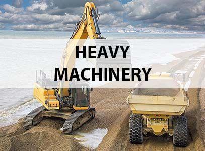 Heavy machinery insurances
