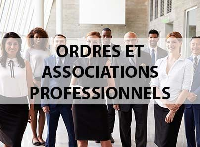 ASSURANCES A DESTINATION DES ORDRES ET ASSOCIATIONS PROFESIONELS