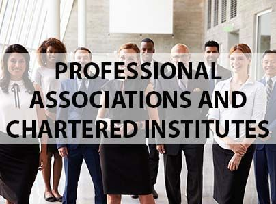 Professional associations and chartered institutes insurances