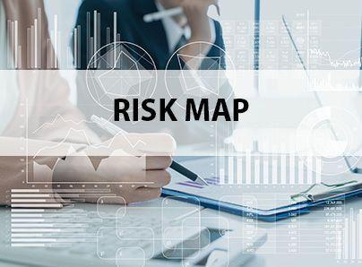 Alkora. Risk map